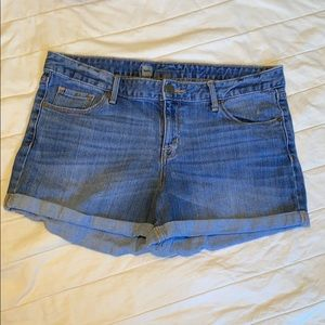 Mossimo Denim Rolled Jean Shorts